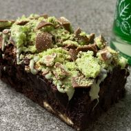 Mint Aero Brownies